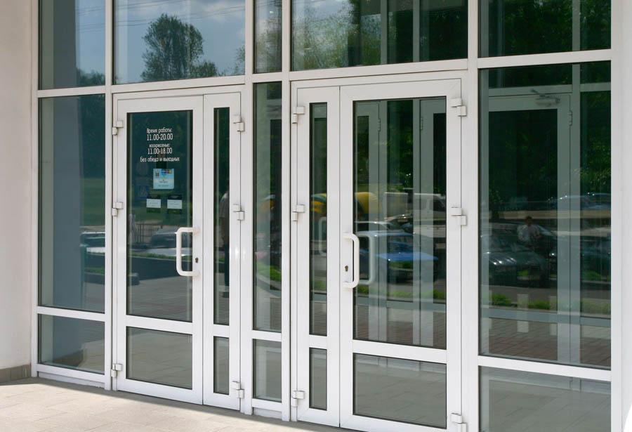 Межкомнатные перегородка с дверью 27